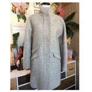 J.Crew Stadium Cloth Wool Cocoon Coat 4
